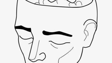 tirita en cerebro, alegoría sobre la salud mental